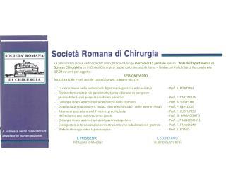 programma gennaio 2012