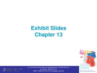 Exhibit Slides Chapter 13