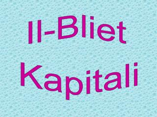 Il-Bliet