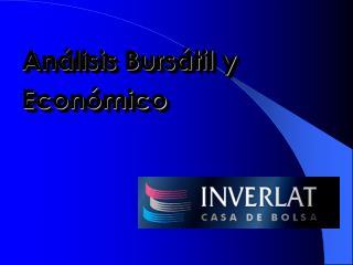 Análisis Bursátil y Económico