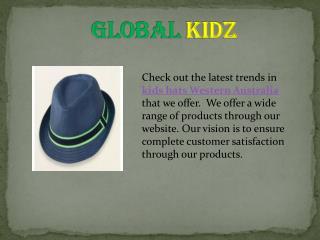 Kids hats western Australia