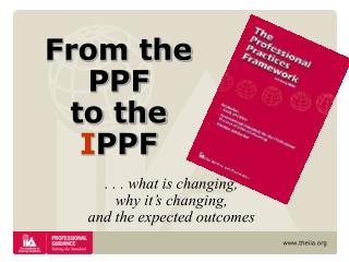 From the PPF  to the I PPF