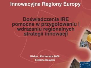 Innowacyjne Regiony Europy