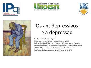 Os antidepressivos  e a depress o
