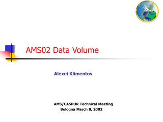 AMS02 Data Volume