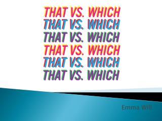 Emma Will