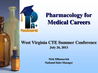 Pharmacology for Medical Careers