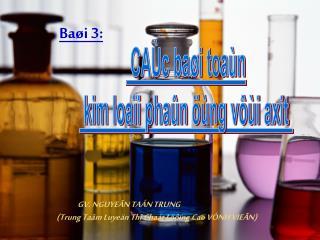 Baøi 3: