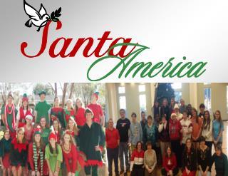 Love, Hope, and Joy… Wrapped in a Warm Secure Santa America Hug!