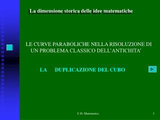 U.D. Matematica