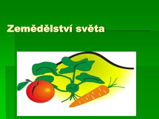 Zemědělství světa