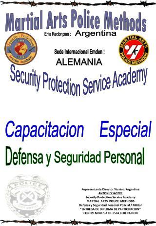 Defensa y Seguridad Personal