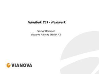 Håndbok 231 - Rekkverk