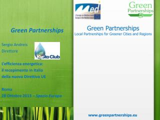 Green  Partnerships