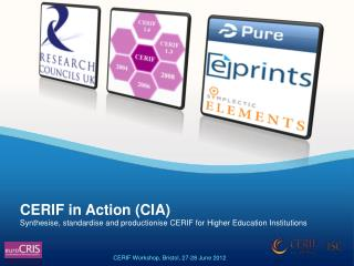 Synthesise, standardise and productionise CERIF for Higher Education Institutions