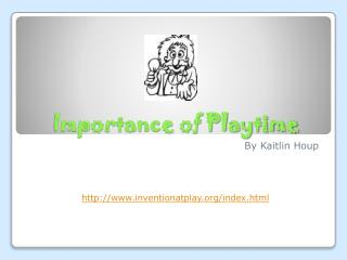 Importance of Playtime
