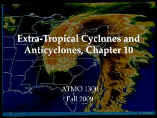 Extra-Tropical Cyclones and Anticyclones, Chapter 10