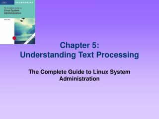 Chapter 5: Understanding Text Processing