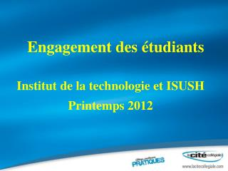 Engagement des étudiants