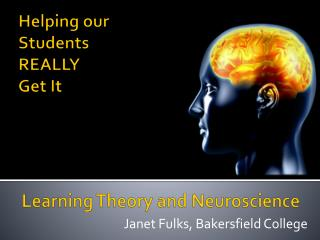 Learning Theory and Neuroscience