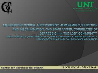 Center for Psychosocial Health