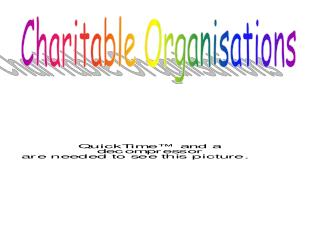 Charitable Organisations