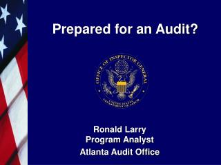 Prepared for an Audit?