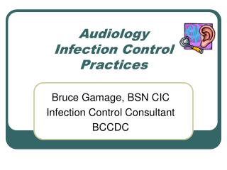 Audiology Infection Control Practices