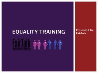Equality Training