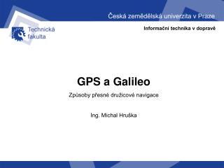 Informační technika v dopravě