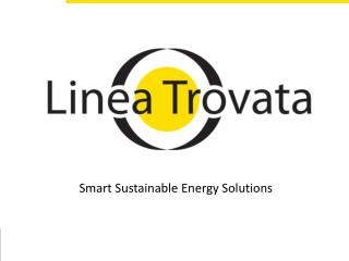 Smart Sustainable Energy Solutions