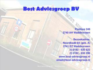 Bost Adviesgroep BV
