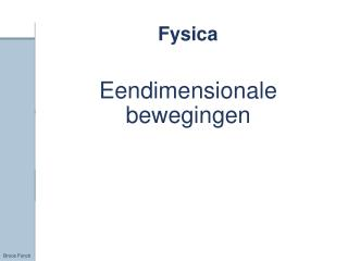 Fysica