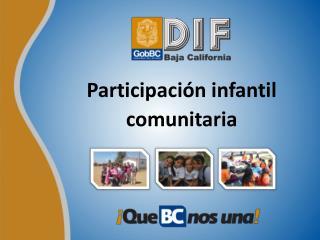 Participación infantil comunitaria