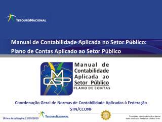 Manual de Contabilidade Aplicada no Setor Público:  Plano de Contas Aplicado ao Setor Público