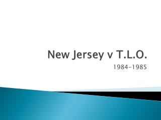 New Jersey v T.L.O.