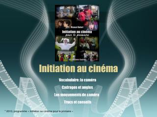 Initiation au cinéma