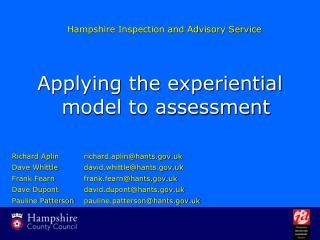 Hampshire Inspection and Advisory Service
