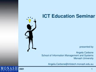 ICT Education Seminar