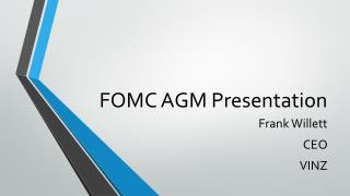FOMC AGM Presentation