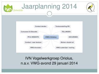 Jaarplanning  2014