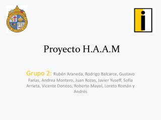 Proyecto H.A.A.M