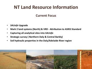 NT Land  Resource Information