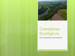 Corredores Ecológicos