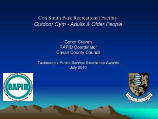 Con Smith Park Recreational Facility Outdoor Gym - Adults & Older People