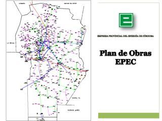 Plan de Obras EPEC