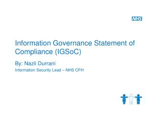 Information Governance Statement of Compliance IGSoC