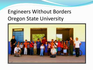 Engineers Without Borders Oregon State University