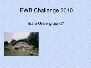 EWB Challenge 2010