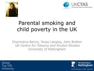 Parental smoking and  child poverty in the UK